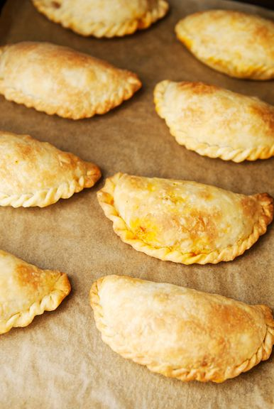 carne adovada empanadas recipe   this uses an argentine empanada crust   crimping this empanada is exactly how we did it at my family's bakeshop in cebu, Sally's Home Bake Shop.