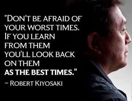Robert Kiyosaki NY Times best selling author Rich Dad Poor Dad. www.ChuckPousson.com