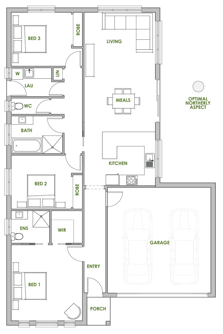 The dillenia offers the very best in energy efficient home design from green homes australia