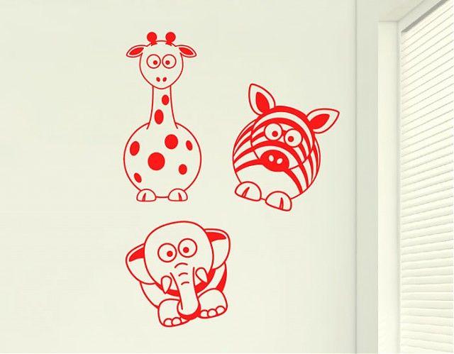 Ebre Vinil Vinilos Decorativos Infantiles Los amigos de la selva 03263