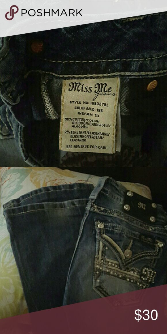 Miss me pants from Buckle store good condition Good condition price firm Miss Me Pants Boot Cut & Flare