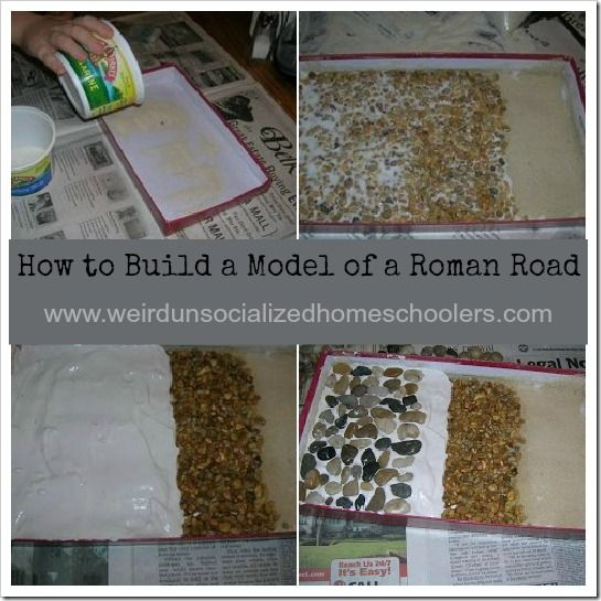 How to Build a Roman Road Model