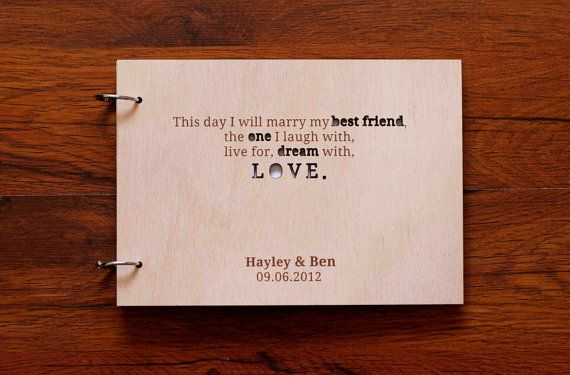Love Quotes Wedding Guest Book: Rustic love fingerprint guestbook ...