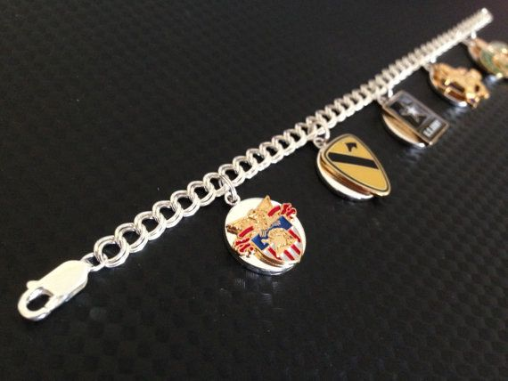 Custom Unit Sterling Silver Charm Bracelet  Made To by FrostedHope, $90.00