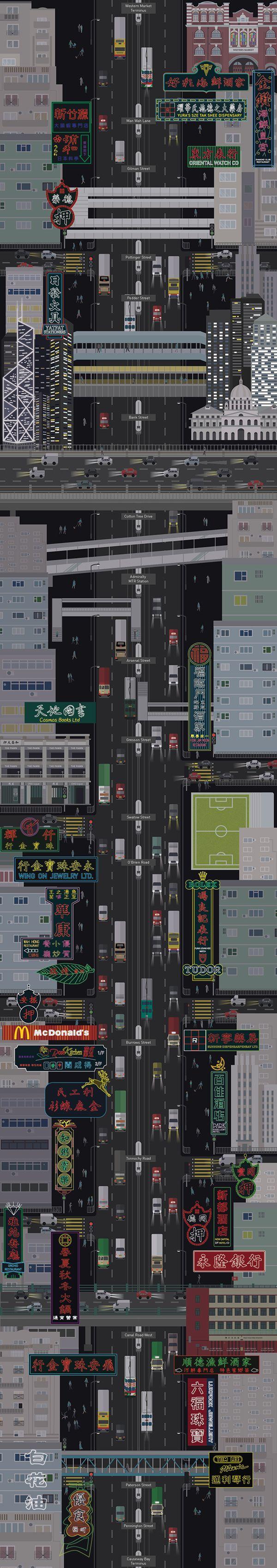 霓虹 X 電車 Neon Signs X Tram (Hong Kong)