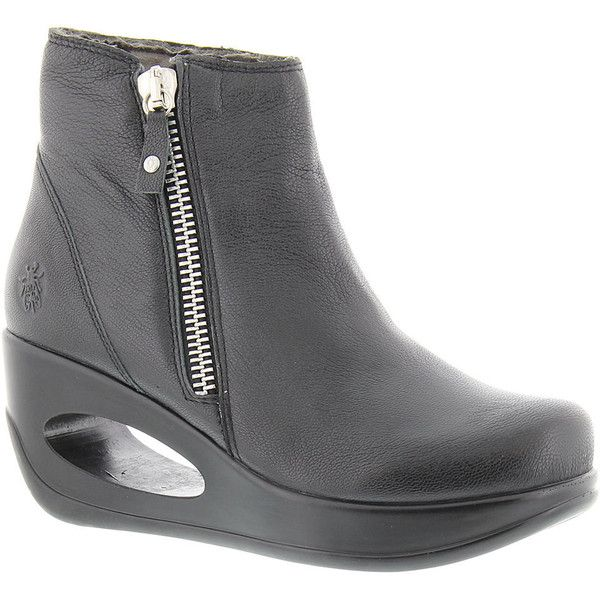Fly London Hulk Women's Black Boot Euro 39 US 8 - 8.5 M ($184)