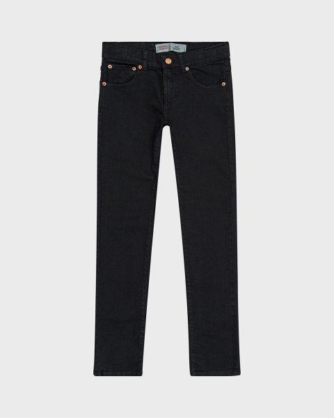 Levi's 510 jeans i skinny fit – Svart