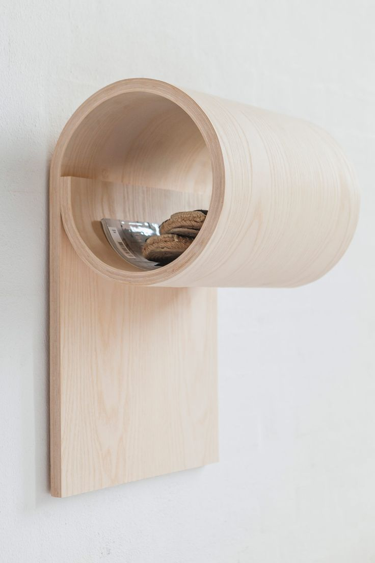 Simple Yet Multifunctional Wooden Storage Unit | Gessato Blog