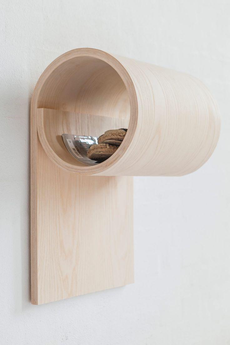 Simple Yet Multifunctional Wooden Storage Unit   Gessato Blog