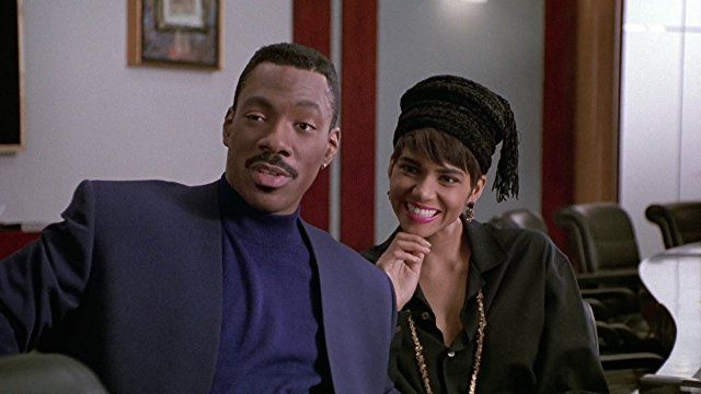 Eddie Murphy And Halle Berry In Boomerang 1992 Eddie Murphy Black Love Movies Comedians