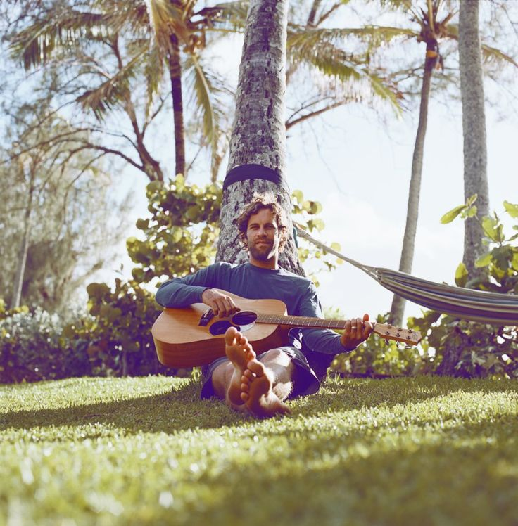 Jack Johnson. A lot of Jack Johnson's strumming in the bar I worked in. And he reminds me of summer.