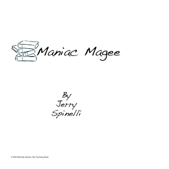 Maniac Magee - An Instructional Guide for Literature