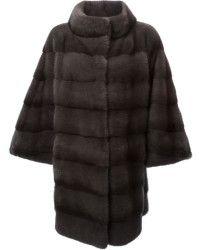 Yves Salomon   Mink Fur Oversized Coat    Lyst