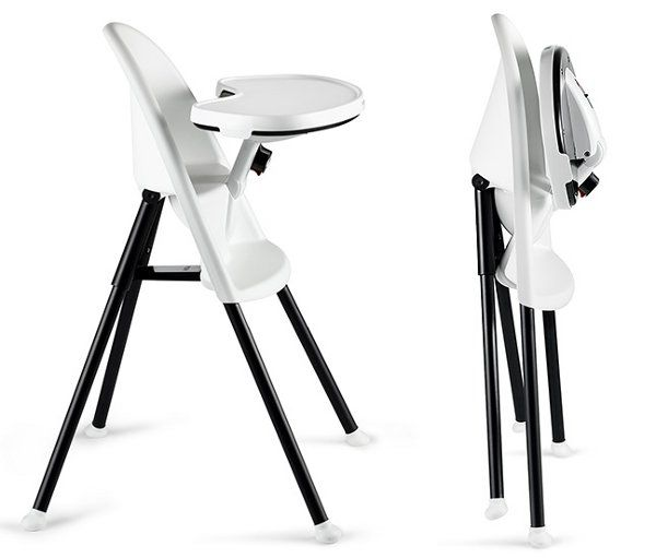 Baby Bjorn   High Chair - very easy to clean, light, sturdy and can travel with you everywhere.