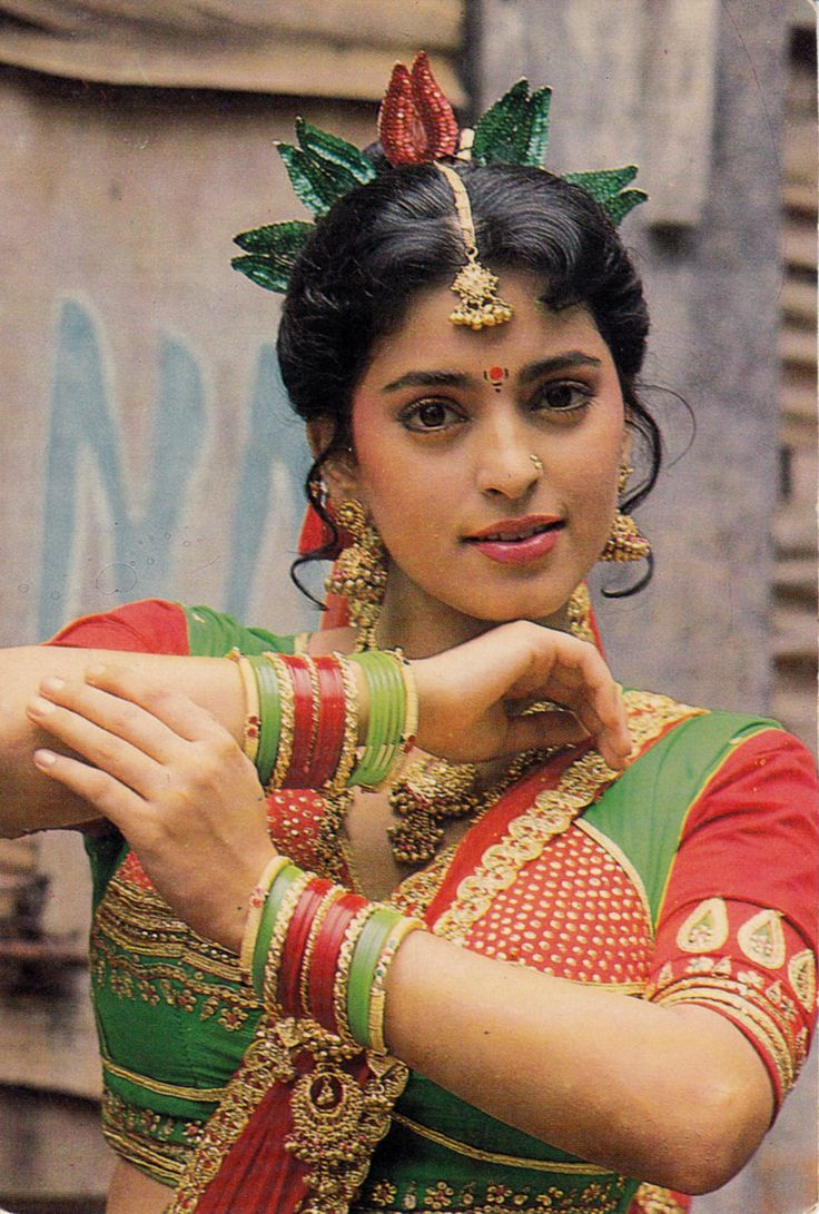 Juhi Chawla, Indian Actress, 1980s