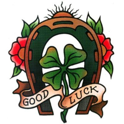 traditional clover tattoo - Google Search