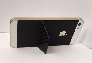 Back Cover iPhone SE 5 5s Aufstellen diskret Carbonfolie Einmalig Hauchdünn  | eBay