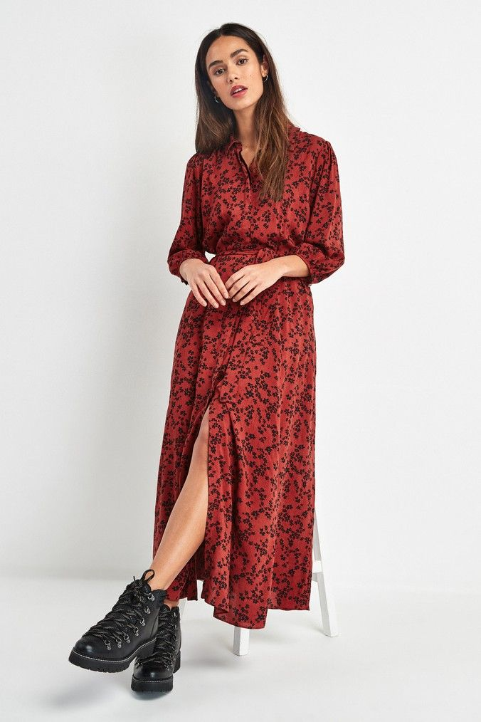 Buy Belted Maxi Shirt Dress from the Next UK online shop | Maxi ...