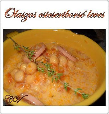 Házias konyha: Olaszos csicseriborsó leves