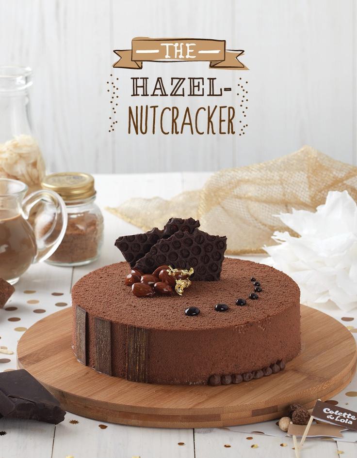 Crispy Hazelnut Plaque, Sacher Sponge Cake & NUTELLA Bavarian Cream. Size : D 20 cm x 5 cm IDR 250.000