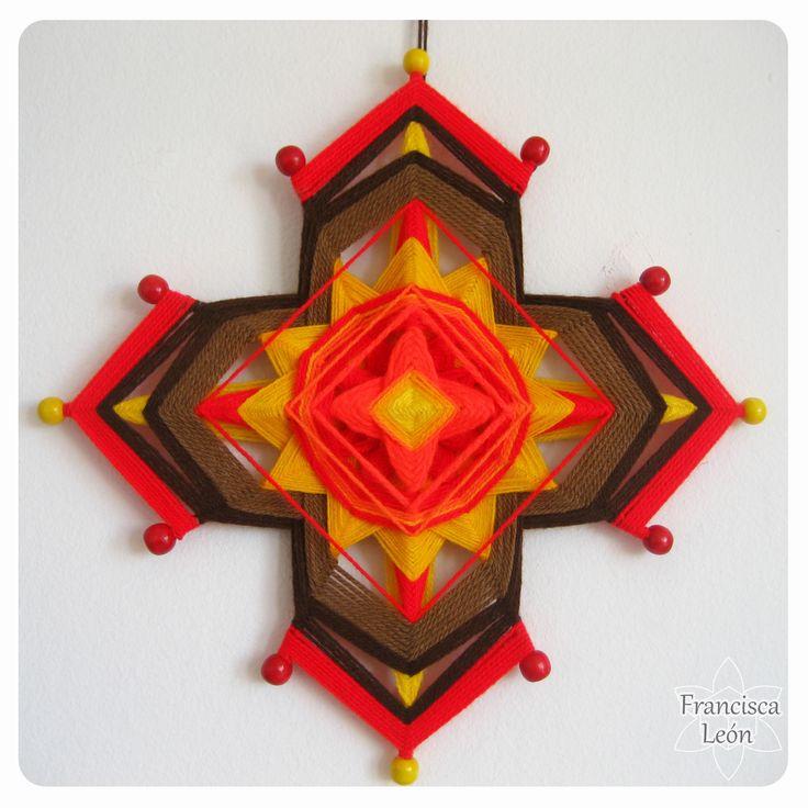 Realizo clases en Santiago de Chile <3 Facebook: Mandalas Tejidos Francisca León <3 Web: http://www.talleresdemandalas.cl <3 correo: leon.francisca@gmail.com <3