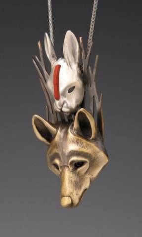 rabbit totem | ... , animal lovers jewelry, and Animal Totem Jewelry by Brooke Stone