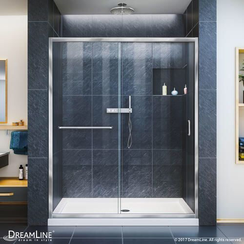 how to clean sliding shower doors