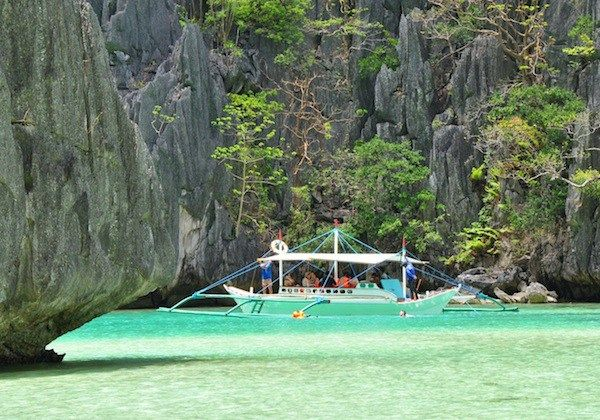Clear Waters of Cadlao Lagoon