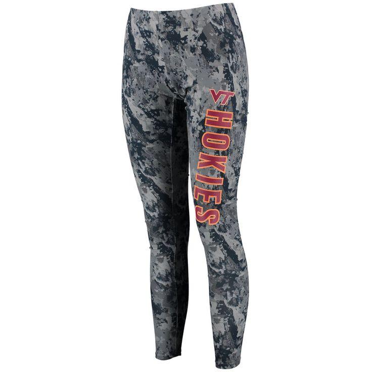 Virginia Tech Hokies Concepts Sport Women's Vortex Leggings - Charcoal