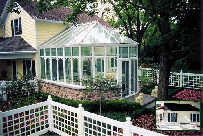 Greenhouse attached house plans farmhouse ideas for Farmhouse sunroom ideas