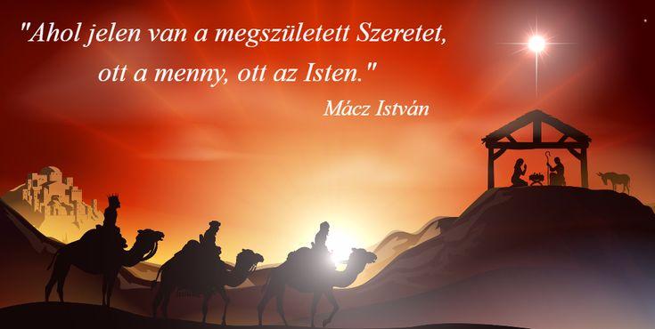 Karácsony - Jézüs Krusztuzs születése - Isten legszebb meséje - Mácz István