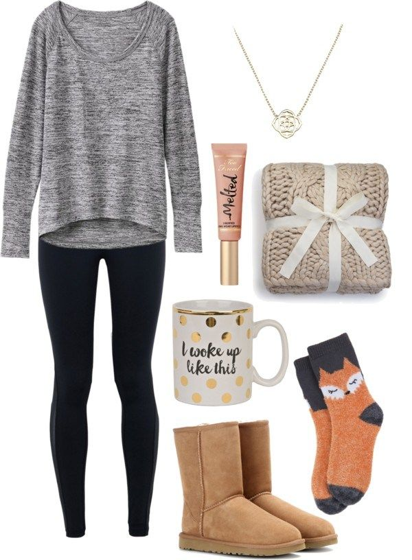 Perfect outfit for a lazy day! Love this outfit and all the other cute winter outfit ideas from this post. Feeling so inspired to style outfits now.