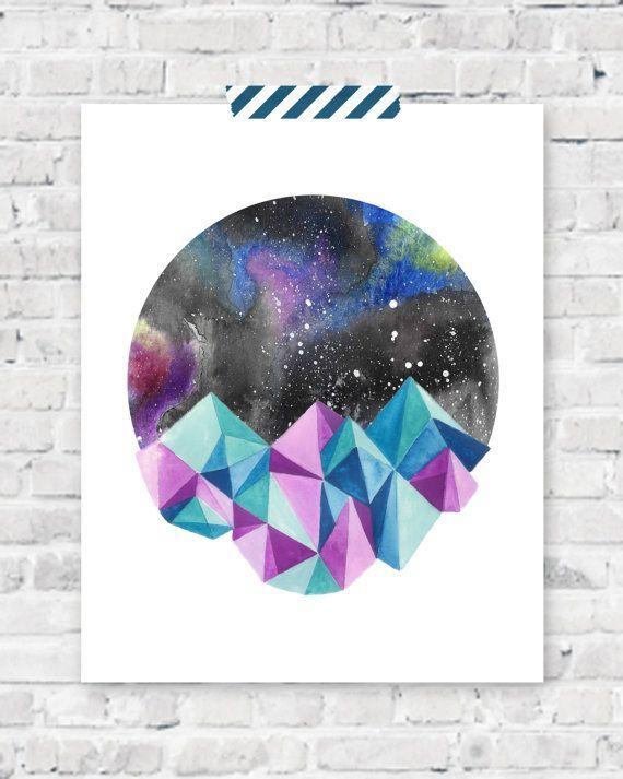 geometric galaxy tattoo - Google Search