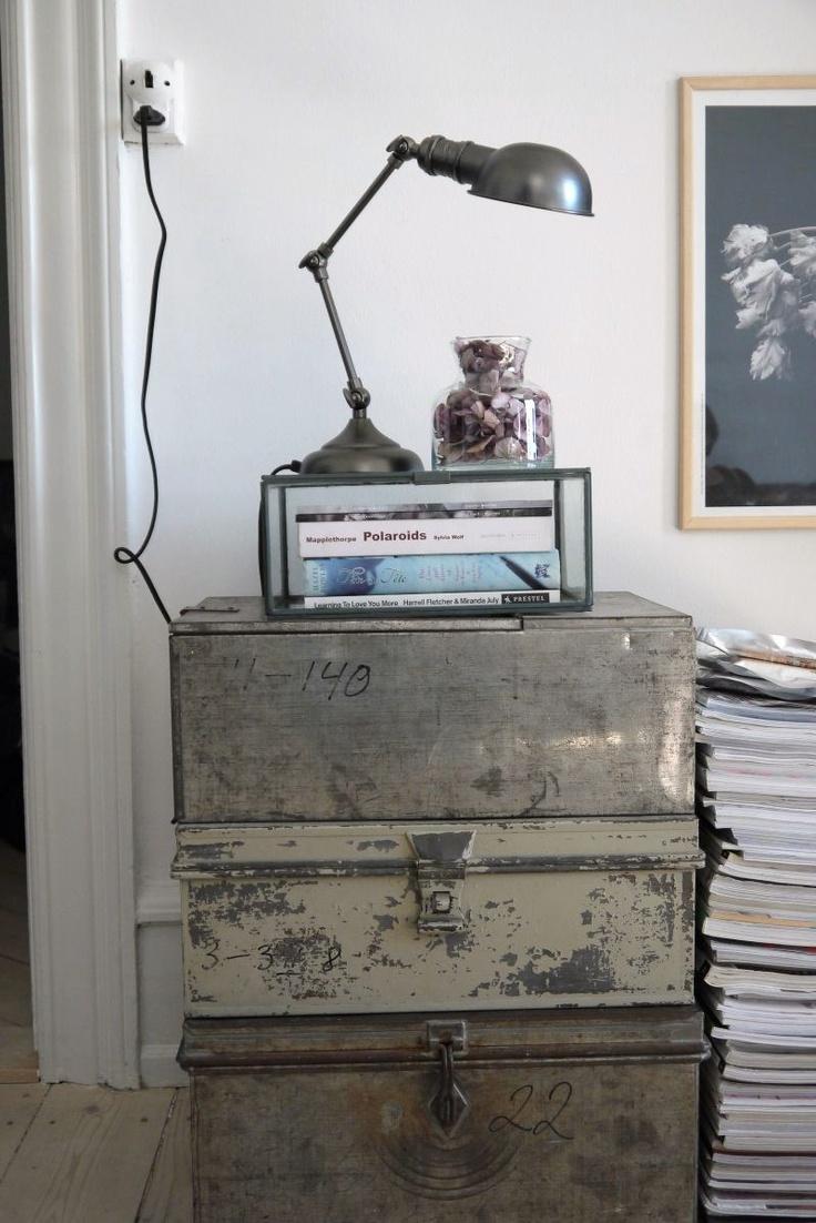Home of Stylist Nathalie Schwer #designcph Picture by Vosgesparis #jielde