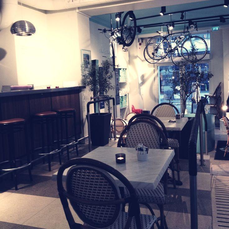 Bike Cafe in Stockholm