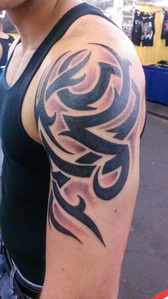 25 best ideas about tribal arm tattoos on pinterest for Tattoo ink dynamic