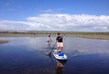 Jeffreys Bay Adventures offers SUP trips in Jeffreys Bay, South Africa. #dirtyboots #sup #jeffreysbay