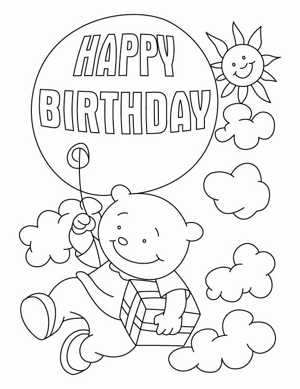 28 Happy Birthday Grandpa Coloring Page in 2020 (With ...