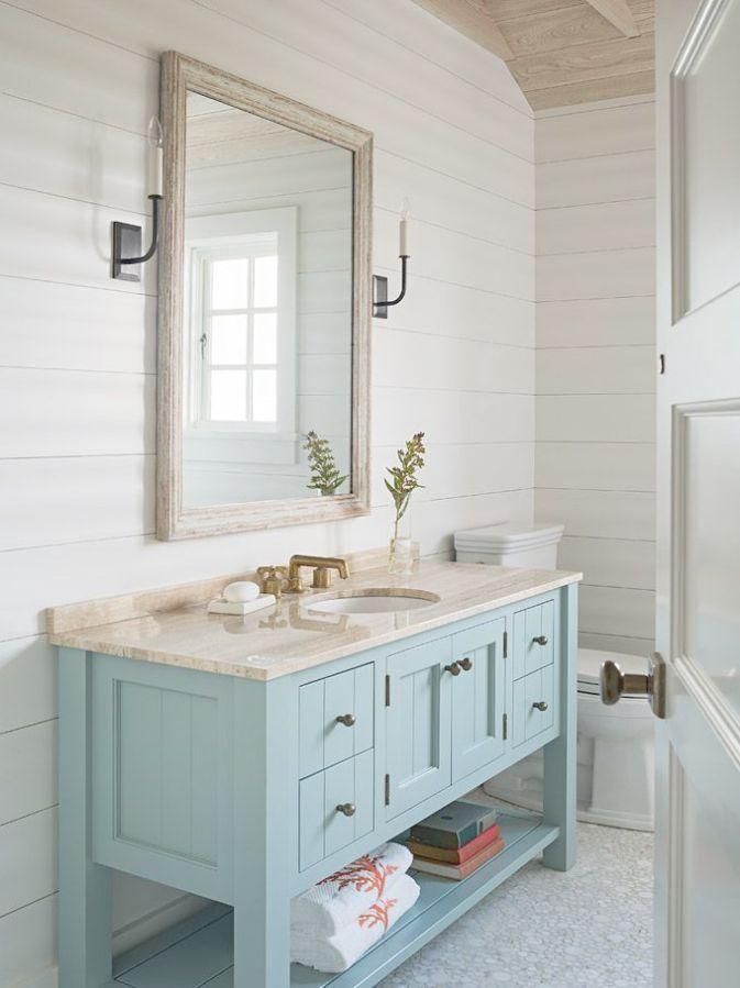 Pin On Coastal Style, Beach Inspired Bathrooms