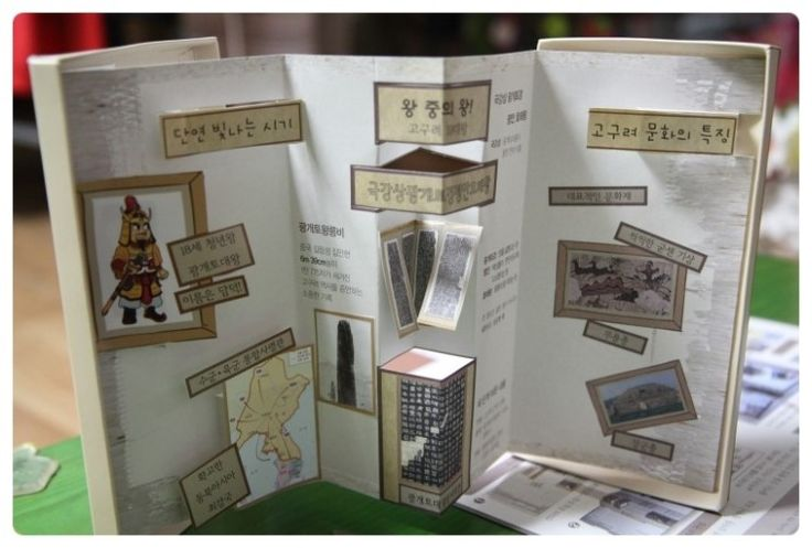 [광개토대왕]팝업북 멋지네요.-아베북&아보세와 함께하는 역사북아트 : 네이버 블로그