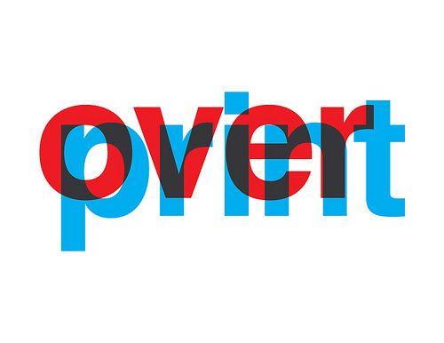 Overprint by David Fajula - Typography Mania #17   Abduzeedo