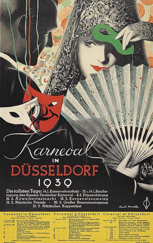 Mather Arvid Karneval in Düsseldorf Jahr: 1939