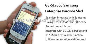 2D CMOS barcode reader Sled,handheld barcode reader for Android,Android Enterprise Barcode Sled Kits