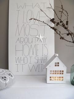 Winterse gezelligheid in huis #home