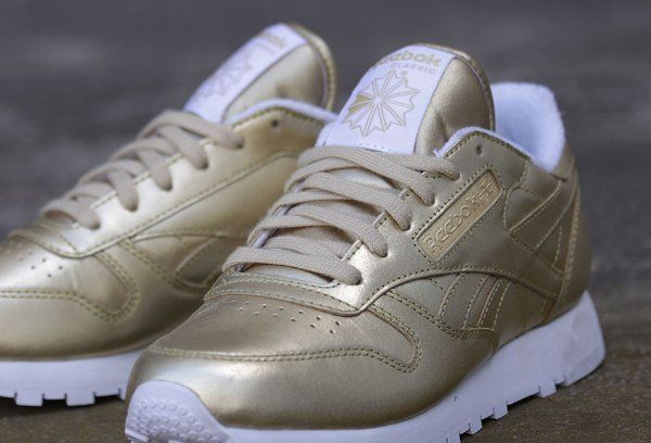 Reebok Classic Leather Spirit 'Sensation' (cuir doré) (2)