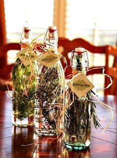 Homemade Herb Vinegar