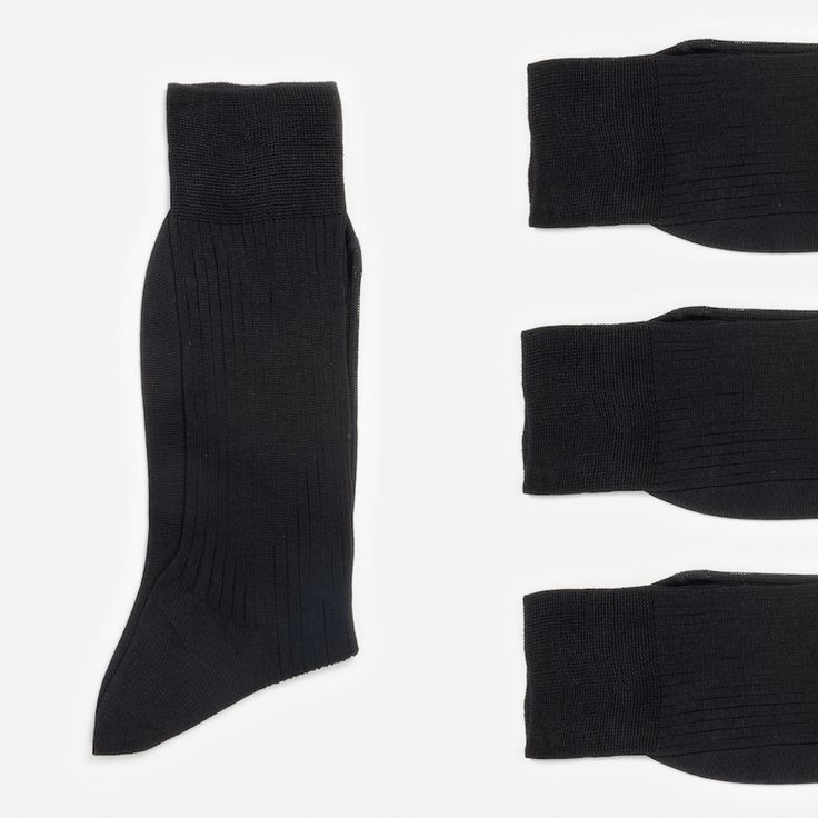 #socks #chaussettes #black #fullblack #noir #fildecosse #madeinfrance #madeinItaly #luxe #atelierparticulier