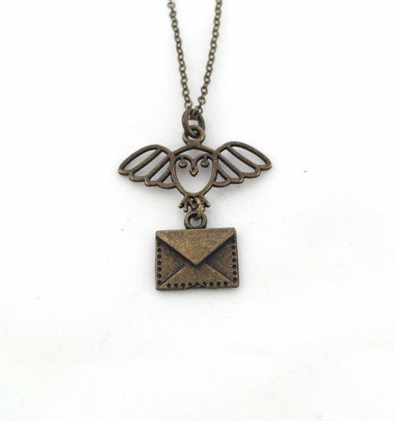 Harry Potter Hey, I found this really awesome Etsy listing at https://www.etsy.com/listing/253973600/hedwig-necklace-harry-potter-necklace