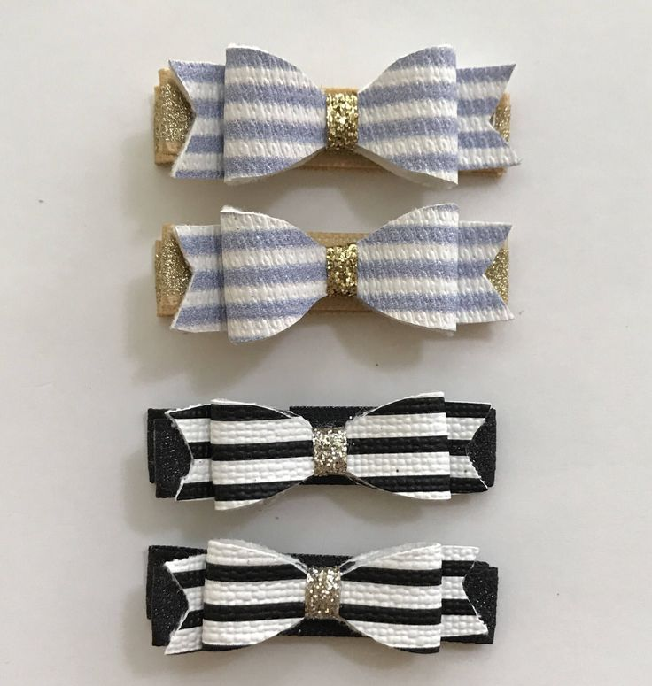 A personal favorite from my Etsy shop https://www.etsy.com/ca/listing/536525809/stripes-hair-clips-black-and-white