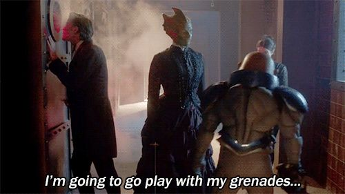 Strax is such a child. In a completely awesome way.